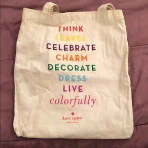 Kate Spade Strand canvas bag